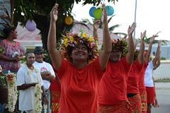 Polynésie Française, The Maupiti Atoll, Dance on the Festive Performance