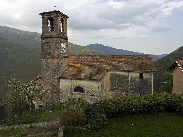 The church of Sant'Eusebio in Riabella (XIX sec.)