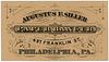 Augustus F. Siller, Paper Hanger, Philadelphia, Pa.
