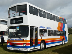 Preserved former United Counties 654 (H654 VVV) at Showbus - 29 Sep 2019 (P1040613)