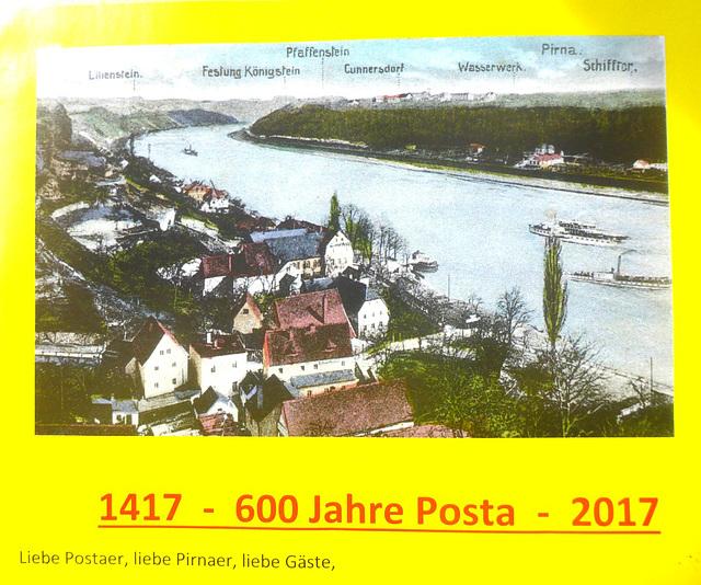 600 Jahre 'Posta' - 1417 - 2017