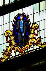 Bleiglas-Fenster im Wrangel-Haus