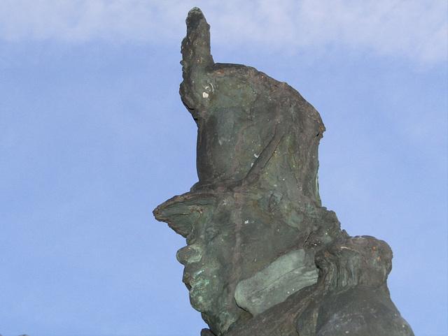 Bronzefigur Josef Deifl