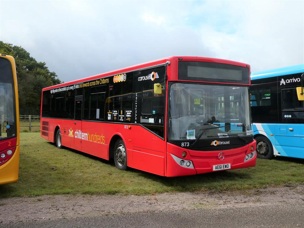 Carousel Buses 873 (AE61 EWO) at Showbus - 29 Sep 2019 (P1040675)