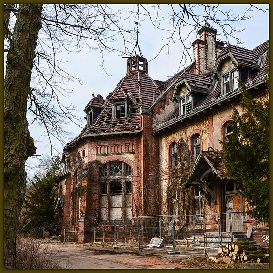Beelitz - Ruine unterm Dach
