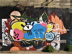 Mural by Pitanga.