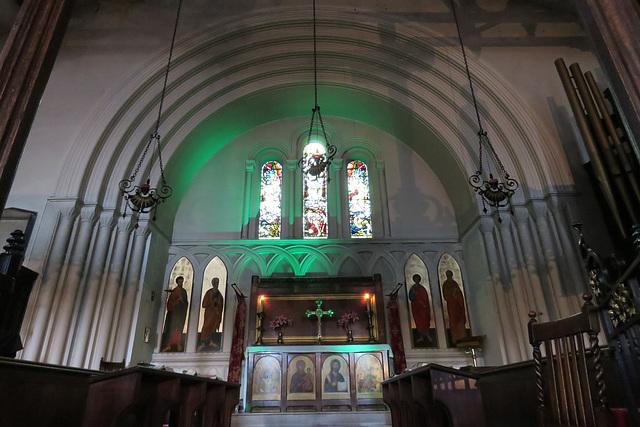 st peter's church,  bethnal green,  london