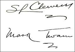 Twain signaturoj