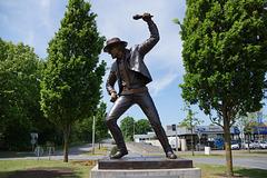 Udo Lindenberg Denkmal in Gronau 037