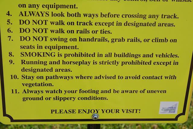 Canada 2016 – Halton County Radial Railway – No horseplay