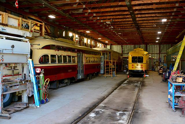 Canada 2016 – Halton County Radial Railway – Barn