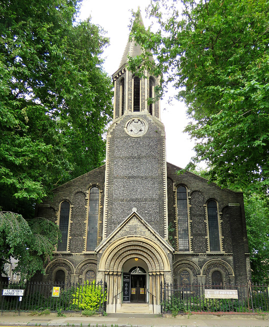 st peter's church,  bethnal green,  london