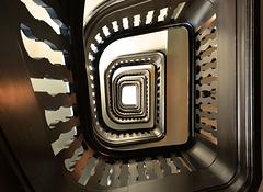 Das  Treppenhaus im Wrangel-Haus