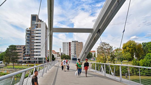 Dreiländerbrücke - Frankreich,Schweiz,Deutschland