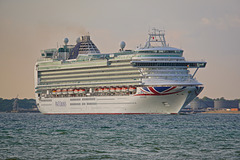 VENTURA sailing from Southampton
