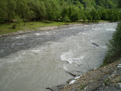 River Aragvi.