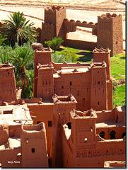 Ksar d'Aït-ben-Haddou - Maroc