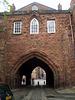 Abbey Gate (14th century).