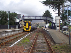 158702 delayed at Strathcarron