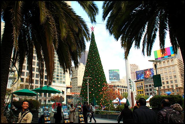 A pre-Christmas shot at SF,CA *