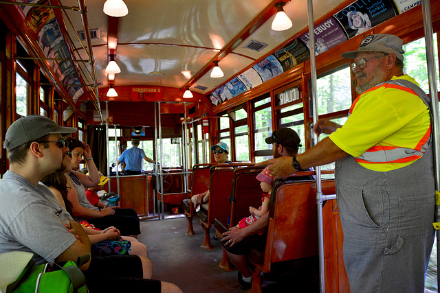 Canada 2016 – Halton County Radial Railway – On the tram