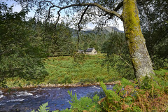 Old School House Cottage over the River Etive, Argyll, Scotland