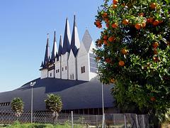 Sevilla, ungarischer Pavillon zur Expo 1992 - HFF