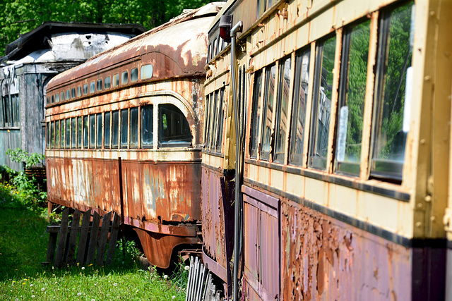 Canada 2016 – Halton County Radial Railway – PCC Cars