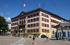 Das Regierungsgebäude in Sion