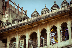 Fuerte Meherangarh, siglo XV. Jodhpur, Rajastan, India