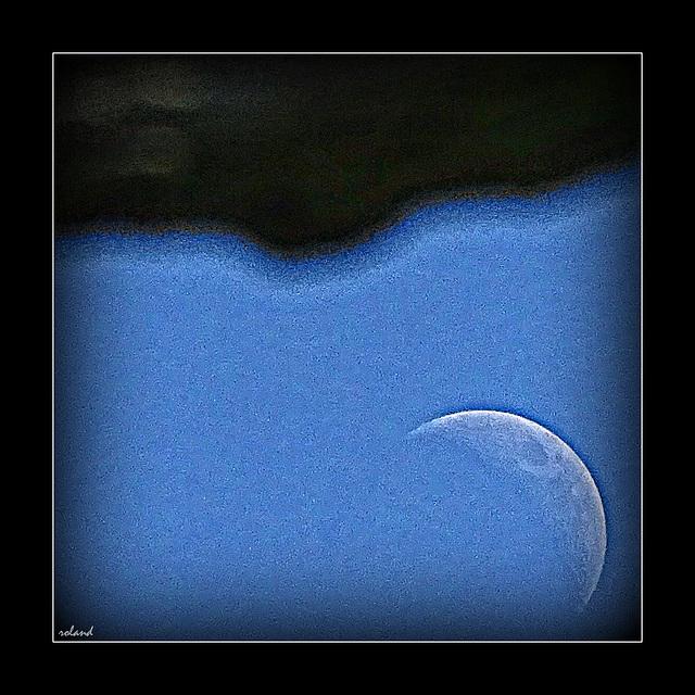 Etre dans la lune en plein jour...!