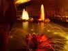 Luminous fountain.