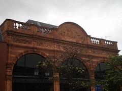 Library's façade.