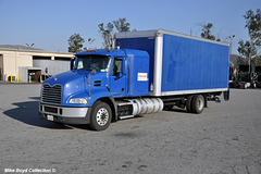 ambassador trucking mack pinnacle straight trk fontana ca 05'19