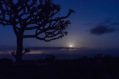 Full Moon over Canary Islands