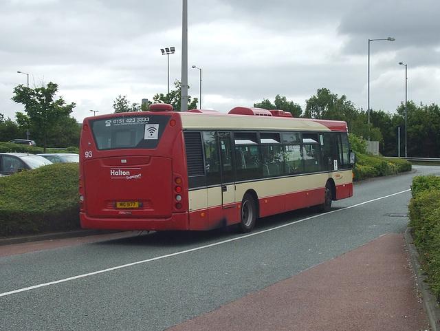 DSCF7793 Halton Borough Transport 4 (AJ58 PZK) in Widnes - 16 Jun 2017