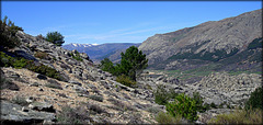 View from La Cabrera to Penelara, the highest point in the Sierra de Guadarrama.