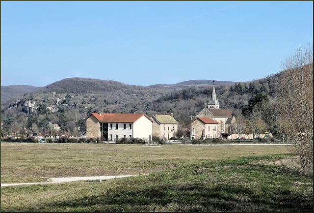 Villemoirieu (38) 19 février 2019.