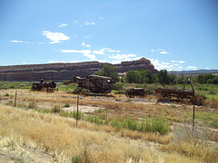 Moyens de transport d'autrefois / Transportation of yester years (Utah)