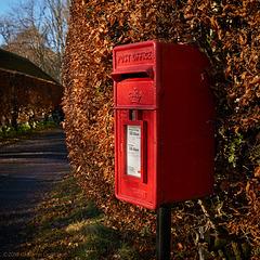 Postbox at Glenprosen