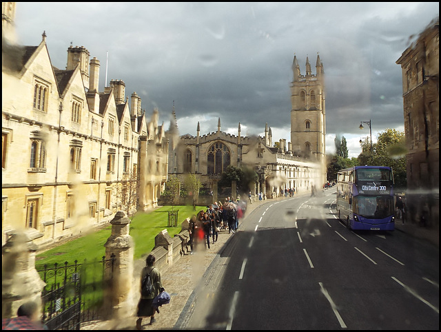sunlight on Magdalen College