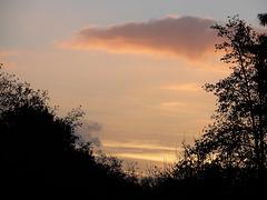 ciel du soir bonsoir,,