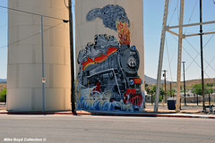 AZ kingman water tower mural 05'19