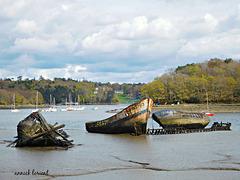cimetière des bateaux,, couleurs printemps,