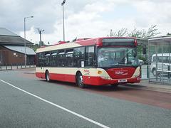 DSCF7703 Halton Borough Transport 83 (MIG 8163, YT09 BKG) in Widnes - 15 Jun 2017