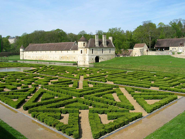 IMG 5054ac Villarceaux Domain French Style Garden and Down Castle