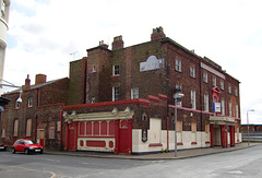 Lowther Hotel, Aire Street, Goole (now restored)