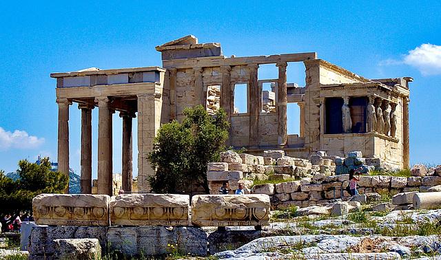 Athen - Akropolis: Das Erychtheion