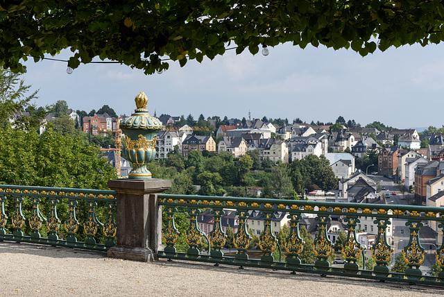 Weilburg – Blick vom Schlossgarten