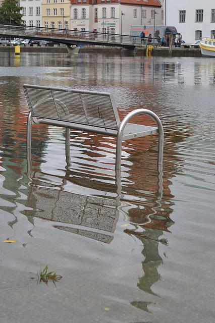 Hochwasser - rückläufig